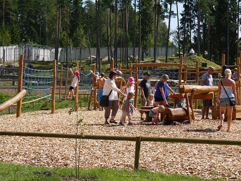 Björnlekplatsen Borås Djurpark